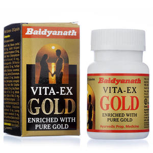 Baidynath Vita-Ex Gold 20 Capsules for vigour and vitality
