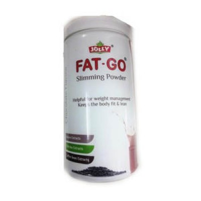 Jolly Fat Go Powder 300g - Slimming Powder For Weight Loss - Mango Flavor (Pack Of 3)