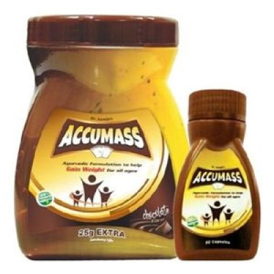 Accumass Ayurvedic Weight Gain Combo Package