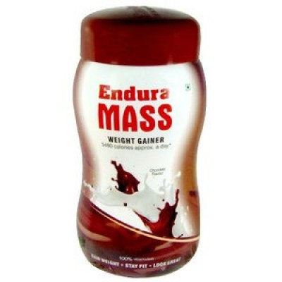 Endura Mass-Weight Gainer choklate Flavours 500gm combo of 2 packs