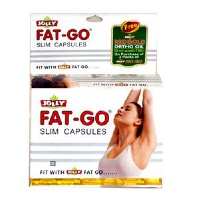 Jolly Fat Go Slim 60 Capsules combo of 2 packs